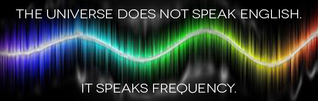 The universe speaks frequency